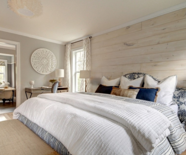 shiplap-headboard-wall-natural-wood-gray