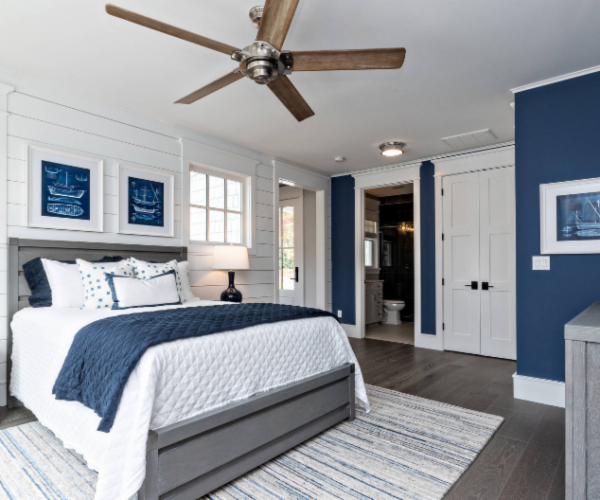 shiplap-headboard-wall-white-bedroom-blue