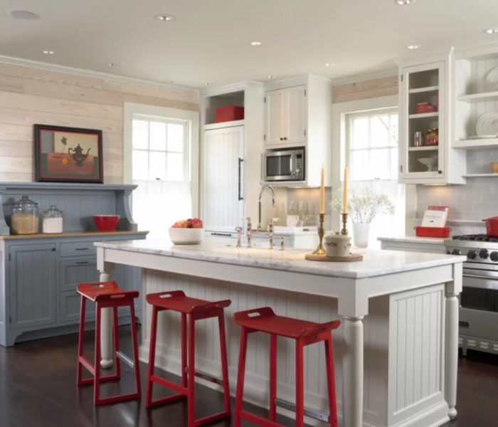 shiplap-kitchen-white-island-antique-white-room